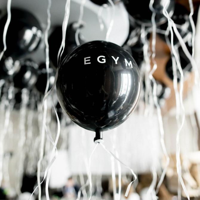 Balloner, åbning af nyt træningscenter i Ficness