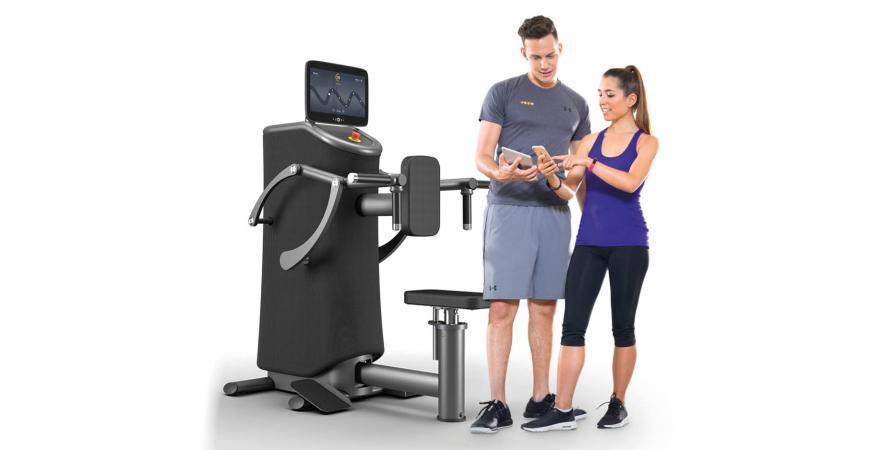 eGym maskiner i Ficness i Fredericia idrætscenter