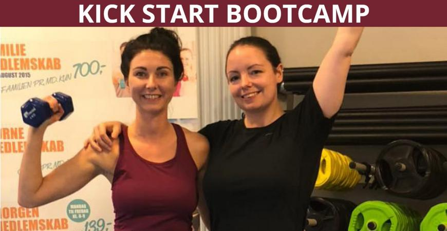 Kick Start det nye år med en bootcamp i Ficness