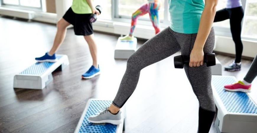 Step træning i Ficness
