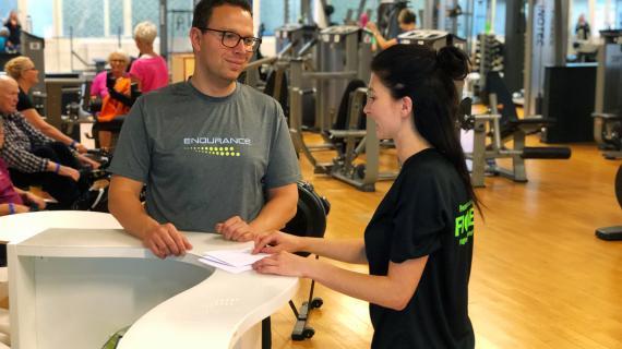 Træningscenter i Ficness