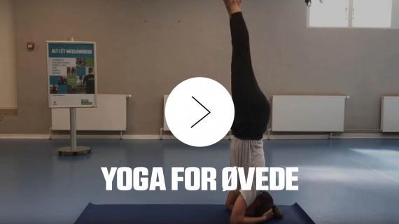 Yoga for øvede i Ficness